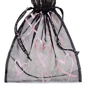 Victoria's Secret Bags - Victoria's Secret Drawstring Mesh Lingerie Pouch